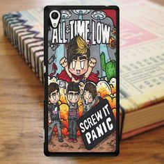 All Time Low Cover Album Cartoon Music Sony Experia Z4 Case