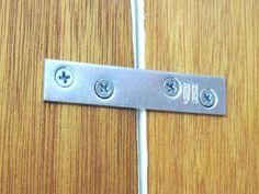 converting bifolds to french doors...metal braces for bi-fold door