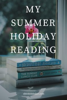 My summer holiday reading featuring Rachael Lucas, Juliet Ashton and Jennifer Weiner. Reading Lists, Book Lists, Mary Ann Shaffer, Jennifer Weiner, The Guernsey Literary, Feminist Books, School Holidays, Fiction Books, Book Recommendations