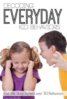 Decoding Everyday Kid Behaviors - Lemon Lime Adventures
