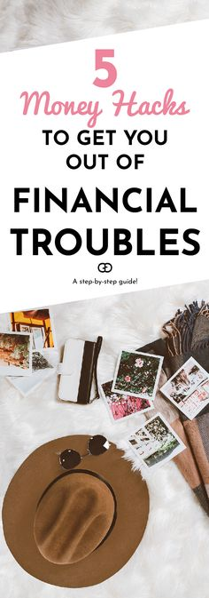 Follow these simple steps to stay out of financial trouble, always stay on top of your finances, and make sure your financial future is in your hands!