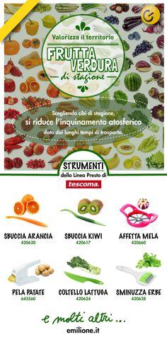 I giusti strumenti per la Frutta e Verdura di Stagione #gennaio #febbraio