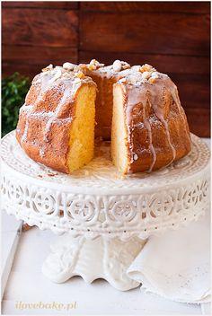 Babka wielkanocna parzona, najlepsza - przepis - I Love Bake Polish Desserts, Polish Recipes, Polish Easter, Easter Traditions, Chiffon Cake, Quick Bread, No Bake Cake, Vanilla Cake, Cheesecake