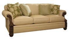 Tommy Bahama Upholstery Benoa Harbour Sofa by Tommy Bahama Home