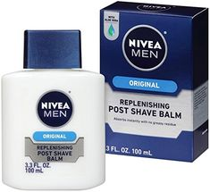 NIVEA Men Maximum Hydration Moisturizing Post Shave Balm Fluid Ounce (Pack of A mild, non-greasy formula with special moisturizers, Vitamin E and Provitamin that delivers long-lasting moisture while repairing and regenerating the skin. Tighter Skin, Hand Therapy, Shave Gel, Perfume, After Shave Balm, Grooming Kit, Skin Care Regimen, Health And Beauty, The Balm