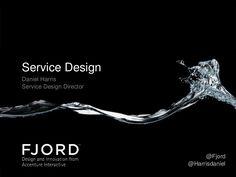 A talk I gave at UX People 2013 as an attempt to demystify the term 'Service Design'. I talked about the methodologies and tools that service designers use, as…