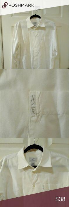 Armani Exchange Armani Exchange button down shirt A/X Armani Exchange Shirts Casual Button Down Shirts
