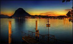 Lago di Lugano, Tocino, Switzerland