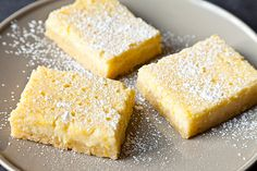Lemon-Ricotta Bars, these sound so lovely, that I'll make the effort to substitute gluten free products for the small amount of flour called for.
