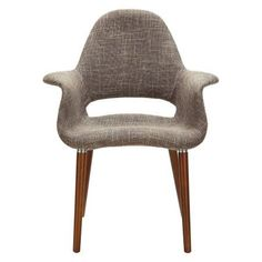 Modway Aegis Upholstered Dining Armchair, Multiple Colors, Brown