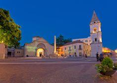 CAMPANIA ~ Benevento ~ Piazza Santa Sofia