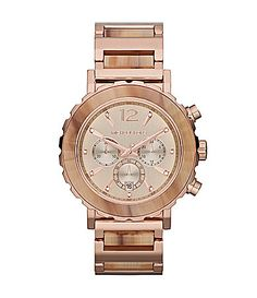 Michael Kors Lille Rose Gold and Sand Chronograph Watch #Dillards