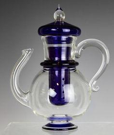 Garret Keisling - Cobalt Blue Teapot