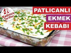 Eggplant Bread Kebab Recipe Video, How To? - Female Recipes Eggplant Bread Kebab Recipe Video, How To? Pot Pasta, Pasta Bake, Turkish Recipes, Ethnic Recipes, Onion Sauce, Stale Bread, Kebab Recipes, Eggplant Recipes, Iftar
