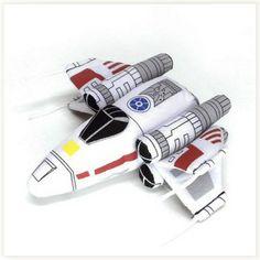 Peluche X-Wing Fighter #peluche #starwars #x-wing