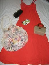 Maxi Dress and Accessories only 29.99! Summer Clearance Time SZ XS