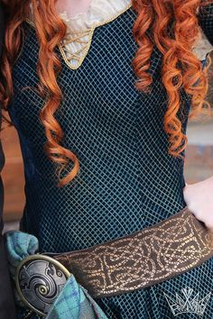 I cannot wait to meet Merida, since I'm Scottish and all
