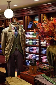 Europas grösster Polo Ralph Lauren Menswear Shop