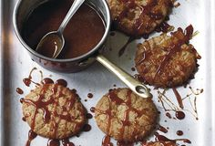 Hot, sweet, sticky..... you do the math. Ginger-Chile Caramel Cookies