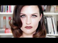 FILM NOIR MAKEUP AND HAIR - YouTube