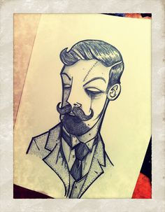 Victor the Victorian Gentleman Zombie by [rich], not a tattoo directly but a nice idea.