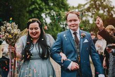colourful and quirky buxton wedding / Becky Ryan Photography