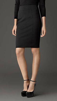 Corset-Jersey Pencil Skirt