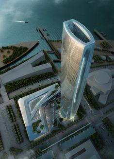 Skidmore, Owings & Merrill LLP - Greenland Group Suzhou Center in Wujiang, China