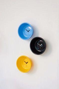 Mad about Design: L'orologio che si crede un catino