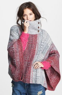 Free People 'Willow' Poncho available at #Nordstrom