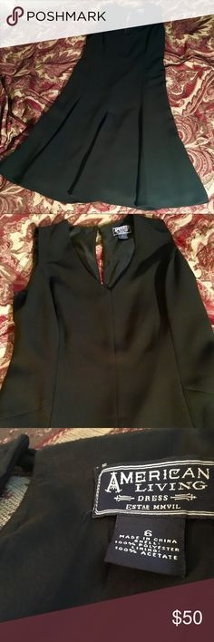 Women's Black Dress size 6 In great Shape, no marks or stains! American Living Dresses