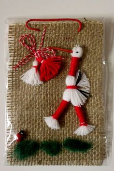 """Sibir.bg - Тема """"мартеничките"""" Christmas Stockings, Christmas Tree, Christmas Ornaments, Baba Marta, Diy And Crafts, Crafts For Kids, Jute, Projects To Try, Wool"""