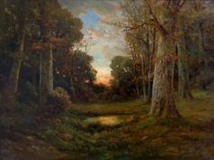 "Angel Espoy ""Clearing in Autumn"" 30x40 Oil on Canvas"