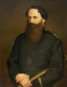 Colonel the Honourable Thomas Grenville Cholmondeley (1818–1883), for 30 Years Commanding Officer of the 1st Royal Cheshire Light Infantry Militia
