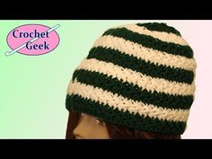 Learning Education How to Crochet Star Stitch Hat Tutorial Crochet Star Stitch, Crochet Geek, Crochet Beanie Pattern, Crochet Stars, Cute Crochet, Hand Crochet, Crochet Stitches, Crochet Flowers, Knit Crochet