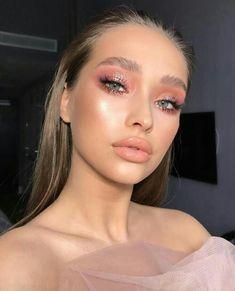 pink eyeshadow looks ; pink eyeshadow for brown eyes ; pink eyeshadow looks for brown eyes ; pink eyeshadow for black women ; pink eyeshadow looks step by step Pastel Makeup, Glossy Makeup, Pink Makeup, Makeup Glowy, Colorful Makeup, Pink Eye Makeup Looks, 70s Makeup, Nude Makeup, Night Makeup