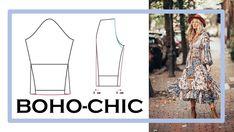 Näh dir dein Boho-Look einfach selbst! Wie das geht und wie du deine Boho-Teile passend kombinierst, verrate ich dir hier. Ibiza Stil, Boho Stil, Bohemian Schick, Bohemian Mode, Boho Fashion, Style, Bad Picture, Geometric Designs, Sew Simple