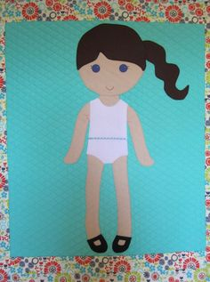 Morgan Dress Up Doll Quilt - Paper Doll Pattern - Quilt Pattern ... : doll quilt patterns - Adamdwight.com