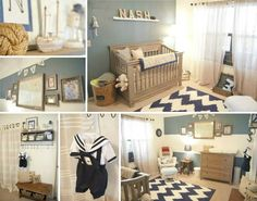 Vintage Nautical Nursery
