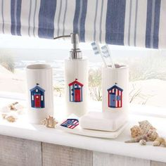 Wide range of Bathroom Collections available to buy today at Dunelm, the UK's largest homewares and soft furnishings store. Bathroom Plants, Bathroom Colors, Bathroom Sets, Bathroom Fixtures, Beach Hut Bathroom, Beach Bathrooms, Bohemian Bathroom, Cornish Cottage, Nautical Interior