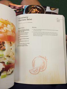 Cranberries chicken salad