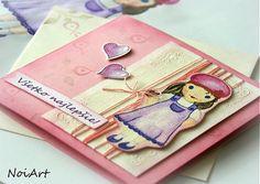 NoiArt / Pohľadnica - Všetko najlepšie, dievčatko 1