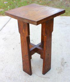 Antique Mission Oak Arts Amp Crafts Stickley Era Side Table Circa 1910 20 039 S