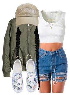"""""""Lord plz save her for me. do this one favor for me."""" by tyrionnak ❤ liked on Polyvore featuring H&M, River Island, Alaïa and Gucci"""