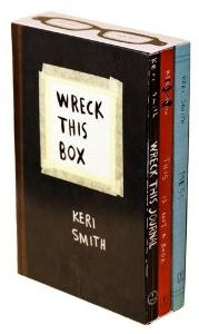 Gifts for Teens:  Wreck This Box Book Set @ Amazon.com