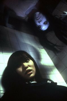 "The American remakes (""The Grudge"" movies) are actually not that bad . but the Japanese originals (the ""Ju-On"" movies) are still your best bets. Creepy Movies, Creepy Stuff, Scary Things, La Danse Macabre, The Grudge, Japanese Horror, Creepy Pictures, Halloween Pictures, Night Terror"