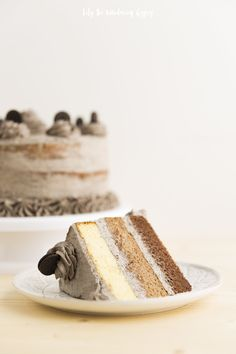 Ombre Oreo Layer Cake
