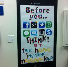 i think this should be on lamp posts// teaching social media etiquette to students