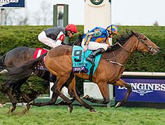 The 3-year-old filly Found, second to Golden Horn in the Irish Champion Stakes (Ire-I), turned the tables on the 3-year-old colt to take the Longines Breeders' Cup Turf (gr. IT) Oct. 31 at Keeneland.