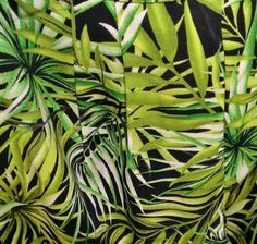 Jungle print, fashion